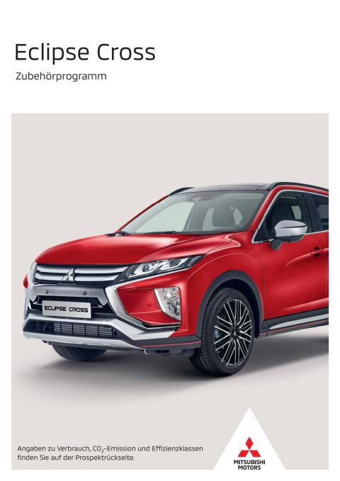 Eclipse Cross Zubehörprogramm