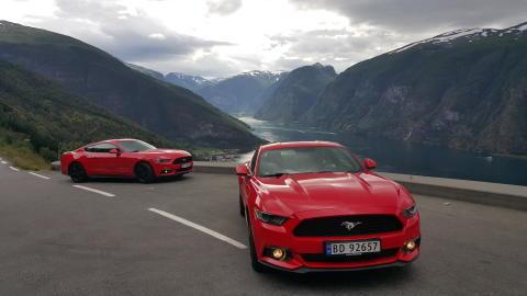 Ford Mustang er verdens mest solgte sportsbil i første halvår