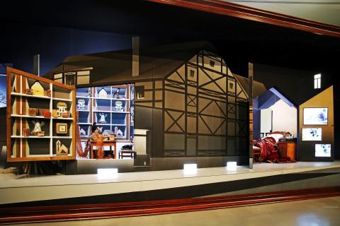 """Museum der bildenden Künste - Ausstellung """"Plateau"""" - Bühnenbild"""