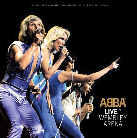 NYTT ALBUM: ABBA LIVE AT WEMBLEY ARENA SMYGLYSSNING PÅ ABBA THE MUSEUM
