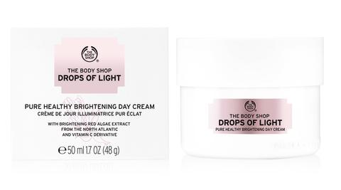 Drops of Light Day Cream & box