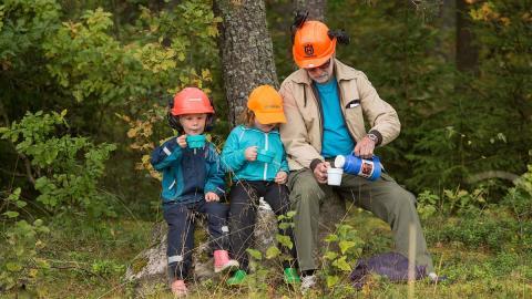 Blivande skogsägare får hjälp på Skogskunskap.se