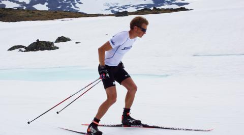 Henrik L'Abée-Lund på Sognefjellet