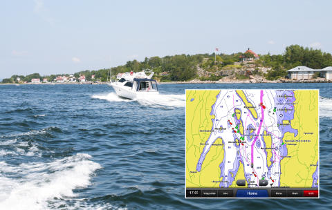 Garmin® BlueChart® HD