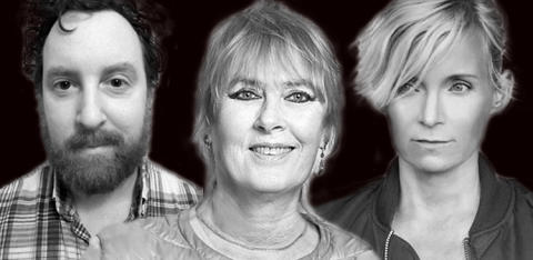 Marie-Louise Ekman, Bea Uusma och Uje Brandelius till Sigtuna Litteraturfestival