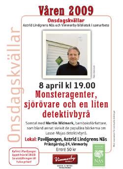Onsdagskväll med Martin Widmark