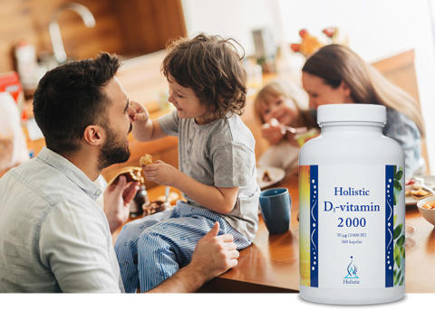 Produktnyhet - Nu kommer våren – därför lanseras Holistic D-vitamin i familjepack