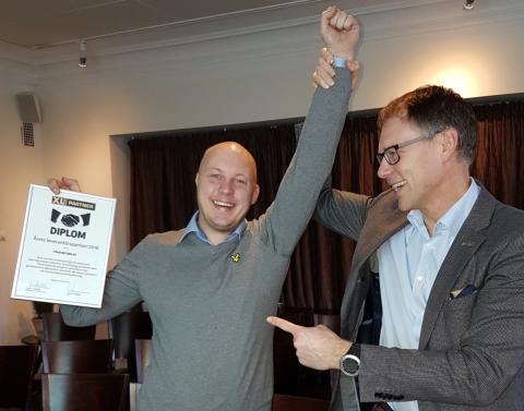 Finja Betong AB - årets leverantörspartner 2016!