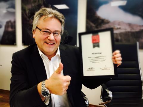Administrerende direktør for Bavaria Norge, Helge Ellingsen
