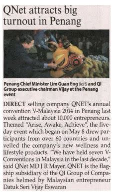 QNET in Malaysian Reserve