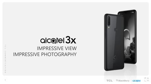 Produktark Alcatel 3x (2019)