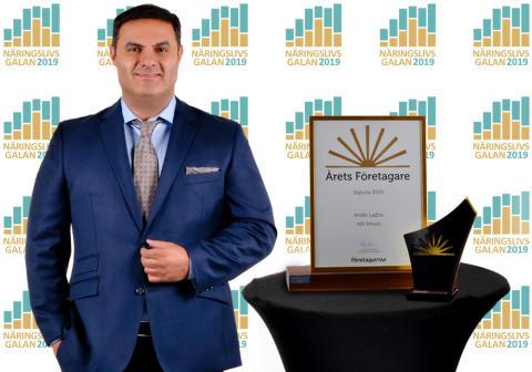 Andie Lahdo blir årets företagare