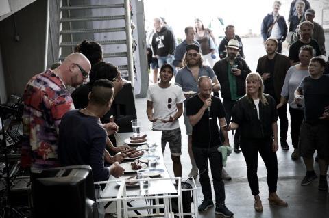 Ærø Dog Days - Hot Dog spisning er en publikumssport