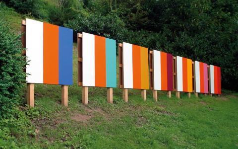 Poul Gernes, Untitled (Rekonstruktion till Documenta XII, Kassel 2007) 1965/2007