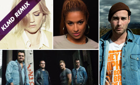 Linda Pira, Zacke, Scotts och Ida Redig är årets ambassadörer för kampanjen Klamydiamåndagen  - i år med undertiteln KLMD Remix