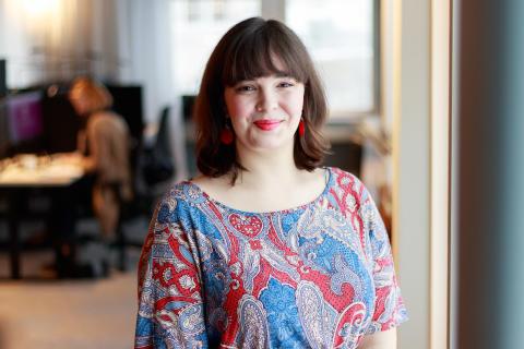 Maria Guthke, ordförande Lärarförbundet student