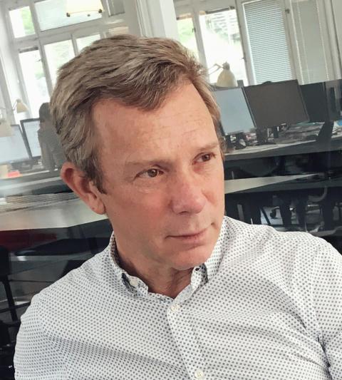 2017 års mottagare av Stålbyggnadsinstitutets Silverbalk är Henrik Rundquist
