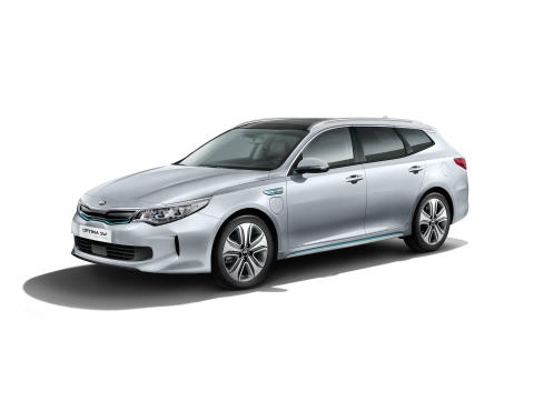 Optima stasjonsvogn Plug in Hybrid