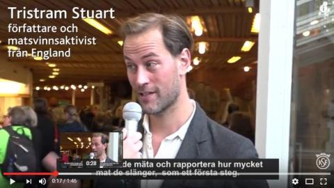 Videointervjuer med talarna på Planetens hälsa