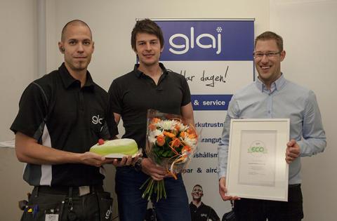 Maskinfirma Glaj får miljöutmärkelse