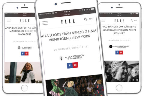 Nu är ELLE Sveriges största modesajt
