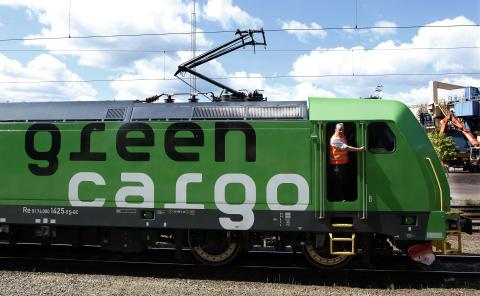 Green Cargos logistiklösning åt E.ON säkrar leveransen av propangas till SSAB