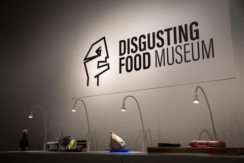 Världspremiär för utställningen Disgusting Food Museum i Malmö
