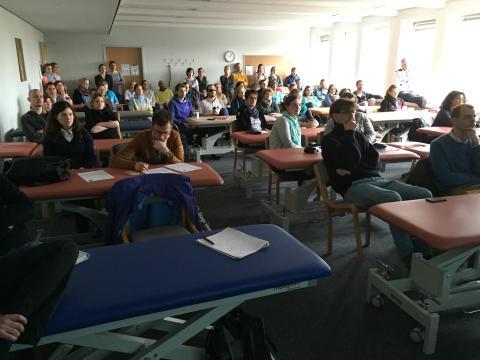 VOD informiert Osteopathieschüler am College Sutherland in Hamburg
