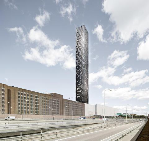 Sten Nordin (M)/ Regina Kevius (M): Tellus Tower presenterat