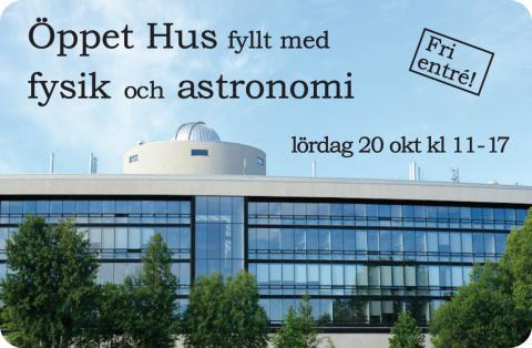 Från Hubble till Higgs - en dag med astronomi och fysik