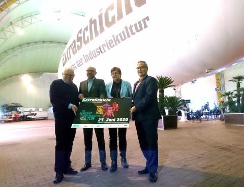 """Blumen für die ExtraSchicht: """"Die Nacht der Industriekultur"""" feiert 20. Geburtstag mit vier neuen Standorten – Verkaufsstart für Frühbucher"""