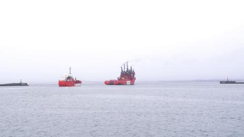 'Esvagt Gamma' and 'Esvagt Promotor' decommissioned
