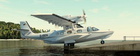 Airec technology in Dornier Seastar, the world´s most advanced amphibious aircraft