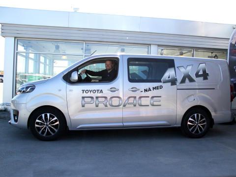 Nå er varebilen med firehjulstrekk klar for Bodø