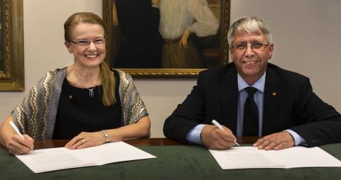 Karin Markides och Terje Moe Gustavsen