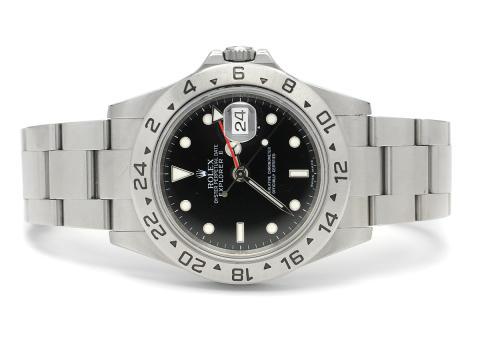 Klockor 5/12, Nr: 86, ROLEX, Oyster Perpetual Date, Explorer II, Chronometer