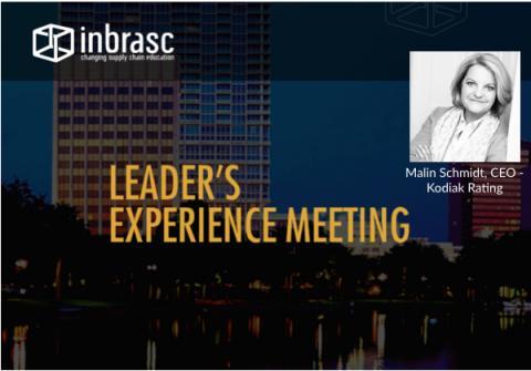 Kodiak Rating's Malin Schmidt set to speak at Leader's Experience Meeting