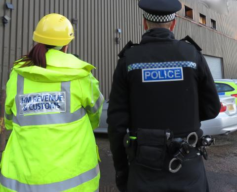 Two arrested in Paisley multi-agency investigations