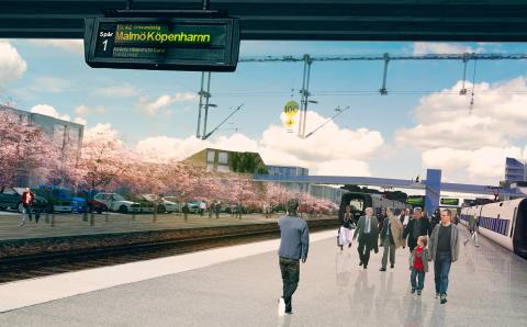 """Pressinbjudan: Kick-off för projekt """"Stationsstaden"""""""