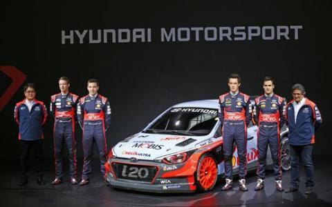 New Generation Hyundai i20 WRC team1