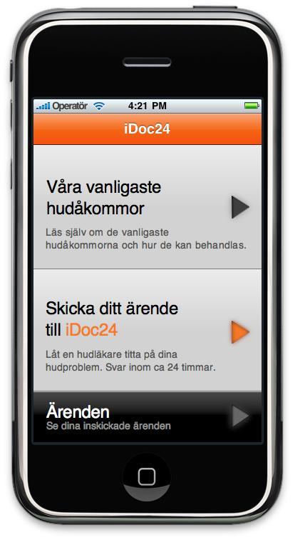Fråga läkaren i mobilen – ny iPhone-applikation