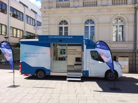 Beratungsmobil der Unabhängigen Patientenberatung kommt am 23. März nach Iserlohn.