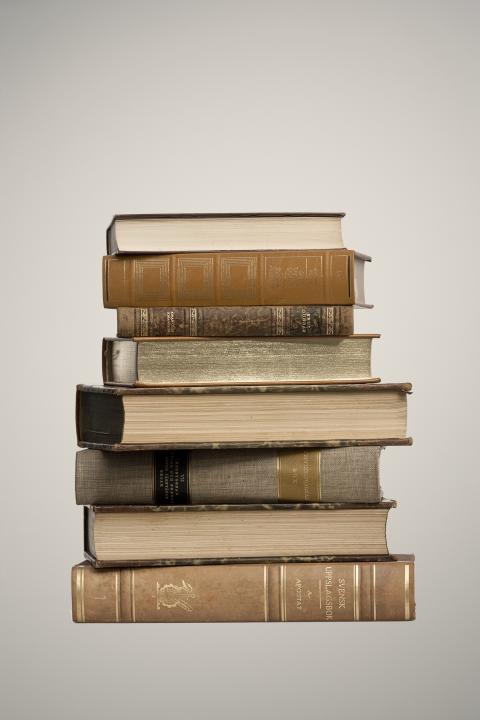 Begagnade böcker blir alltmer eftertraktat