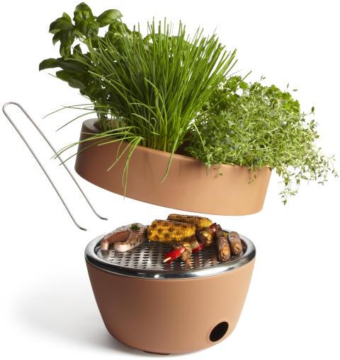 Hot-Pot BBQ grill