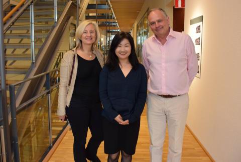 Pressmeddelande Forteanslag till Ayako, Katja och Scott, Region Örebro län, 2019