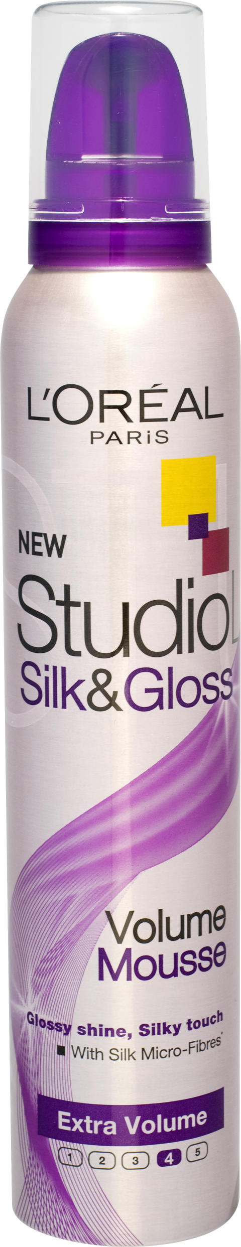 Studio Line Silk & Gloss Volume Mousse