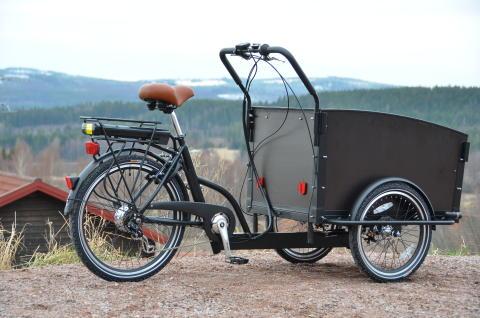 Elcykel Cargobike Classic Electric
