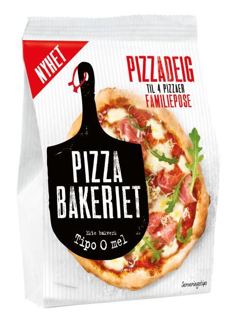 Pizzabakeriet Pizzadeig