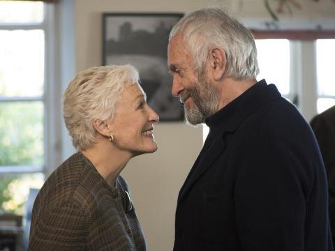 Glenn Close og Jonathan Pryce skal opleves i THE WIFE