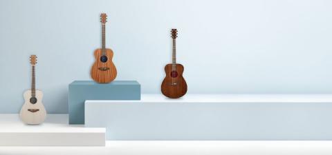 Yamaha presenterar STORIA elektroakustiska gitarrer